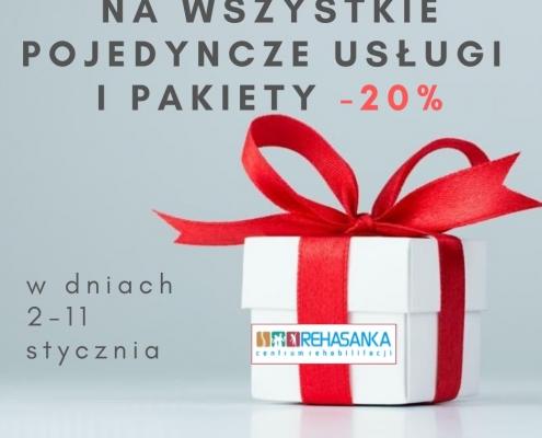 promocja rehabilitacja -20%