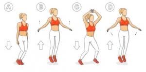 ćwiczenia pajacyki