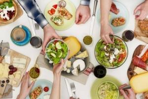rodzinny posiłek najlepszą dietą dziecka