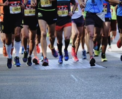 Bieganie maratonu warszawa